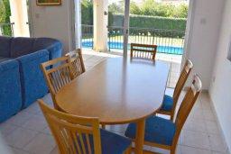 Гостиная. Кипр, Корал Бэй : Комфортабельная вилла с 3-мя спальнями, с бассейном, уютным двориком с патио и барбекю