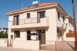 Фасад дома. Кипр, Ларнака город : Современный просторный и комфортный таунхаус с 3-мя спальнями для 7-ых человек в тихом и спокойном месте.