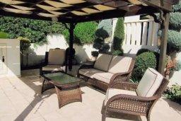 Патио. Кипр, Декелия - Ороклини : Роскошная пляжная вилла в Ларнаке с бассейном и двориком с барбекю, 5 спален, 5 ванных комнат, парковка, Wi-Fi