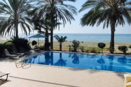 Бассейн. Кипр, Декелия - Ороклини : Роскошная пляжная вилла в Ларнаке с бассейном и двориком с барбекю, 5 спален, 5 ванных комнат, парковка, Wi-Fi