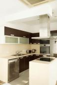 Кухня. Кипр, Декелия - Пила : Современная вилла с бассейном в 50 метрах от пляжа, 2 спальни, парковка, Wi-Fi