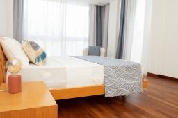 Спальня. Кипр, Декелия - Пила : Современная вилла с бассейном в 50 метрах от пляжа, 3 спальни, парковка, Wi-Fi