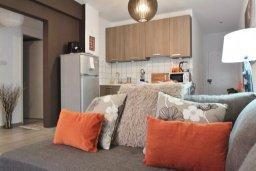 Гостиная. Кипр, Ларнака город : Современный апартамент в 10 минутах ходьбы от центральной набережной, с гостиной, тремя спальнями и двумя ванными комнатами