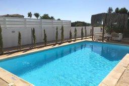 Бассейн. Кипр, Ионион - Айя Текла : Прекрасная вилла с бассейном напротив пляжа, 3 спальни, 2 ванные комнаты, парковка, Wi-Fi