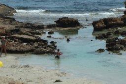 Пляж Landou в Айя Напе, в районе пляжей Аммос и Лимнария