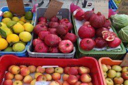Открытый центральный рынок в Ларнаке