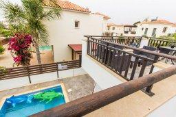 Патио. Кипр, Ионион - Айя Текла : Прекрасная вилла с бассейном и приватным двориком недалеко от пляжа, 3 спальни, 2 ванные комнаты, патио, барбекю, парковка, Wi-Fi