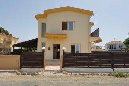 Фасад дома. Кипр, Ионион - Айя Текла : Уютная вилла с бассейном и приватным двориком недалеко от пляжа, 2 спальни, 2 ванные комнаты, барбекю, парковка, Wi-Fi