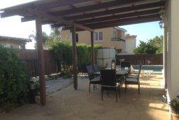 Терраса. Кипр, Ионион - Айя Текла : Уютная вилла с бассейном и приватным двориком с обеденной зоной, 2 спальни, барбекю, парковка, Wi-Fi