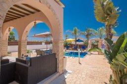 Территория. Кипр, Ионион - Айя Текла : Роскошная вилла с бассейном и просторным двориком, 2 спальни, барбекю, парковка, Wi-Fi