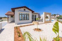 Фасад дома. Кипр, Ионион - Айя Текла : Современная вилла с бассейном и двориком с барбекю, 2 спальни, 2 ванные комнаты, парковка, Wi-Fi