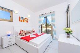 Спальня. Кипр, Ионион - Айя Текла : Современная вилла с бассейном и двориком с барбекю, 2 спальни, 2 ванные комнаты, парковка, Wi-Fi