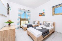 Спальня 2. Кипр, Ионион - Айя Текла : Современная вилла с бассейном и двориком с барбекю, 2 спальни, 2 ванные комнаты, парковка, Wi-Fi