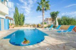 Бассейн. Кипр, Ионион - Айя Текла : Очаровательная вилла с 3-мя спальнями, с бассейном, приватным двориком, патио и барбекю