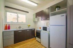 Кухня. Кипр, Центр Айя Напы : Уютный апартамент в центре Айя Напы, с гостиной, отдельной спальней и балконом