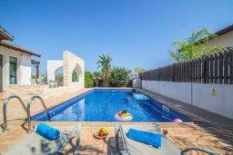 Бассейн. Кипр, Ионион - Айя Текла : Великолепная вилла с 2-мя спальнями, с бассейном, уютным двориком, тенистой террасой с патио и барбекю