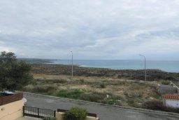 Вид на море. Кипр, Писсури : Великолепная вилла с бассейном и видом на море, 3 спальни, 2 ванные комнаты, дворик с барбекю, парковка, Wi-Fi