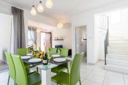 Обеденная зона. Кипр, Пернера Тринити : Прекрасная вилла с бассейном и двориком с барбекю, 3 спальни, 2 ванные комнаты, парковка, Wi-Fi