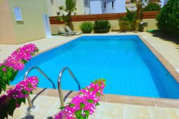 Бассейн. Кипр, Нисси Бич : Прекрасная вилла с 2-мя спальнями, бассейном, солнечной террасой с патио, расположена недалеко от знаменитого пляжа Nissi Beach