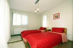 Спальня 3. Кипр, Св. Рафаэль Лимассол : Современная вилла с бассейном и зеленым двориком с барбекю, 3 спальни, 2 ванные комнаты, парковка, Wi-Fi