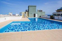 Бассейн. Кипр, Центр Лимассола : Современная студия в комплексе с бассейном и тренажерным залом, в 20 метрах от пляжа