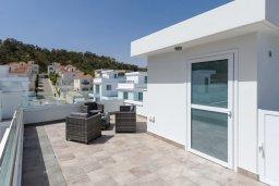 Терраса. Кипр, Каво Марис Протарас : Потрясающая современная вилла с 3-мя спальнями, бассейном, уютным двориком с патио барбекю, меблированной террасой на крыше, расположена недалеко от пляжей Konnos Beach и Fig Tree Bay