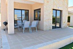 Терраса. Кипр, Лачи : Современная вилла в 100 метрах от пляжа с бассейном, 4 спальни, 3 ванные комнаты, парковка, Wi-Fi