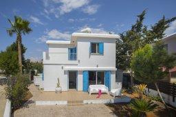 Фасад дома. Кипр, Ионион - Айя Текла : Комфортабельная вилла с 3-мя спальнями, 2-мя ванными комнатами, бассейном, террасой с патио и барбекю