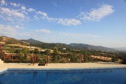 Бассейн. Кипр, Помос : Роскошная вилла с бассейном и видом на море, 4 спальни, 5 ванных комнат, барбекю, парковка, Wi-Fi