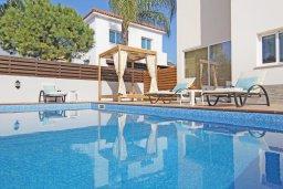 Бассейн. Кипр, Ионион - Айя Текла : Прекрасная вилла с бассейном и двориком с барбекю, 3 спальни, парковка, Wi-Fi