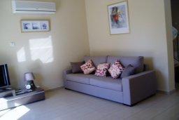 Гостиная. Кипр, Ионион - Айя Текла : Уютная вилла с бассейном и двориком с барбекю, 3 спальни, 2 ванные комнаты, парковка, Wi-Fi