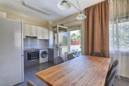 Кухня. Кипр, Гермасойя Лимассол : Прекрасная вилла с бассейном и зеленым двориком, 3 спальни, парковка, Wi-Fi