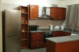 Кухня. Кипр, Месоги : Роскошная вилла с бассейном и двориком с барбекю, 4 спальни, 3 ванные комнаты, парковка, Wi-Fi