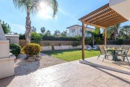 Территория. Кипр, Нисси Бич : Великолепная вилла с зелёным двориком и барбекю, с 3 спальнями, расположена в знаменитом районе Nissi в Айя-Напе
