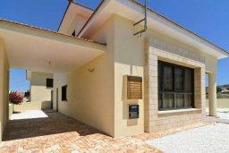 Фасад дома. Кипр, Декелия - Ороклини : Уютная вилла с приватным двориком, 3 спальни, 2 ванные комнаты, парковка, Wi-Fi