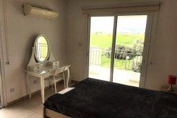 Спальня. Кипр, Декелия - Пила : Апартамент в комплексе с бассейном, с гостиной, двумя спальнями и большим балконом