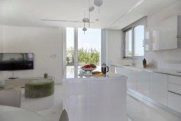 Кухня. Кипр, Пернера Тринити : Потрясающая вилла с видом на Средиземное море, с 3-мя спальнями, с бассейном, солнечной меблированной террасой на крыше с джакузи, расположена в прекрасном тихом районе Ayia Triada около пляжа Trinity Beach