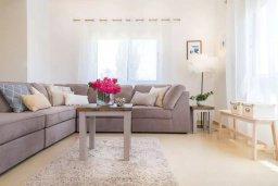 Гостиная. Кипр, Пейя : Прекрасная вилла с бассейном и зеленым двориком с джакузи, 3 спальни, 2 ванные комнаты, парковка, Wi-Fi