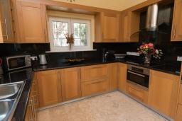 Кухня. Кипр, Ионион - Айя Текла : Роскошная вилла с 4-мя спальнями, с бассейном, джакузи и солнечной террасой с патио, в окружении зелёного сада