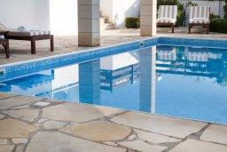 Бассейн. Кипр, Корал Бэй : Современная вилла с 3-мя спальнями, 3-мя ванными комнатами, с бассейном, джакузи, патио и бильярдом, расположена в самом центре Coral Bay