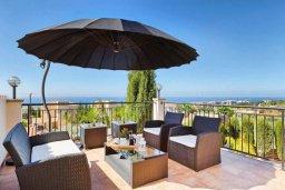 Патио. Кипр, Пейя : Роскошная вилла с бассейном и джакузи, 3 спальни, 2 ванные комнаты, настольный теннис, барбекю, парковка, Wi-Fi