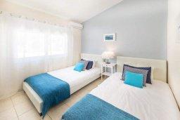 Спальня 3. Кипр, Пейя : Потрясающая вилла с 4-мя спальнями, 3-мя ванными комнатами, бассейном, патио и барбекю, расположена на склоне холма над Coral Bay