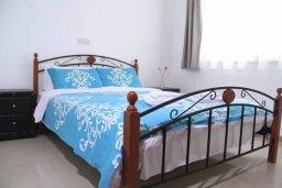 Спальня. Кипр, Пейя : Апартамент в комплексе с бассейном, с гостиной, двумя спальнями и балконом с видом на море