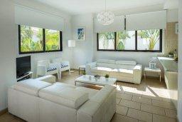 Гостиная. Кипр, Санрайз Протарас : Очаровательная вилла с 3-мя спальнями, 2-мя ванными комнатами, просторным частным садом, бассейном, патио и барбекю, расположена в самом центре Протараса