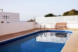 Бассейн. Кипр, Помос : Прекрасная вилла в 50 метрах от пляжа, с бассейном и двориком с барбекю, 5 спален, 4 ванные комнаты, бильярд, парковка, Wi-Fi