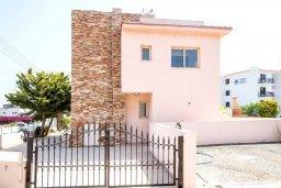 Фасад дома. Кипр, Пернера : Уютная вилла с бассейном и приватным двориком с барбекю, 3 спальни, 3 ванные комнаты, парковка, Wi-Fi