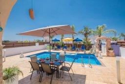 Бассейн. Кипр, Ионион - Айя Текла : Уютная вилла с бассейном и двориком с барбекю, 2 спальни, 2 ванные комнаты, парковка, Wi-Fi