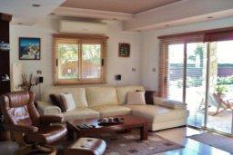 Гостиная. Кипр, Марони : Прекрасная вилла с бассейном и зеленым двориком, 3 спальни, парковка, Wi-Fi