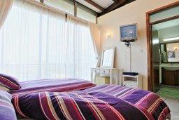 Спальня 2. Кипр, Лачи : Современная и просторная вилла с панорамным видом на море, с 3-ми спальнями, бассейном, фантастической террасой с lounge-зоной и барбекю