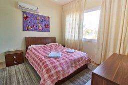 Спальня 2. Кипр, Корал Бэй : Прекрасная вилла с бассейном и двориком с барбекю, 3 спальни, 2 ванные комнаты, парковка, Wi-Fi